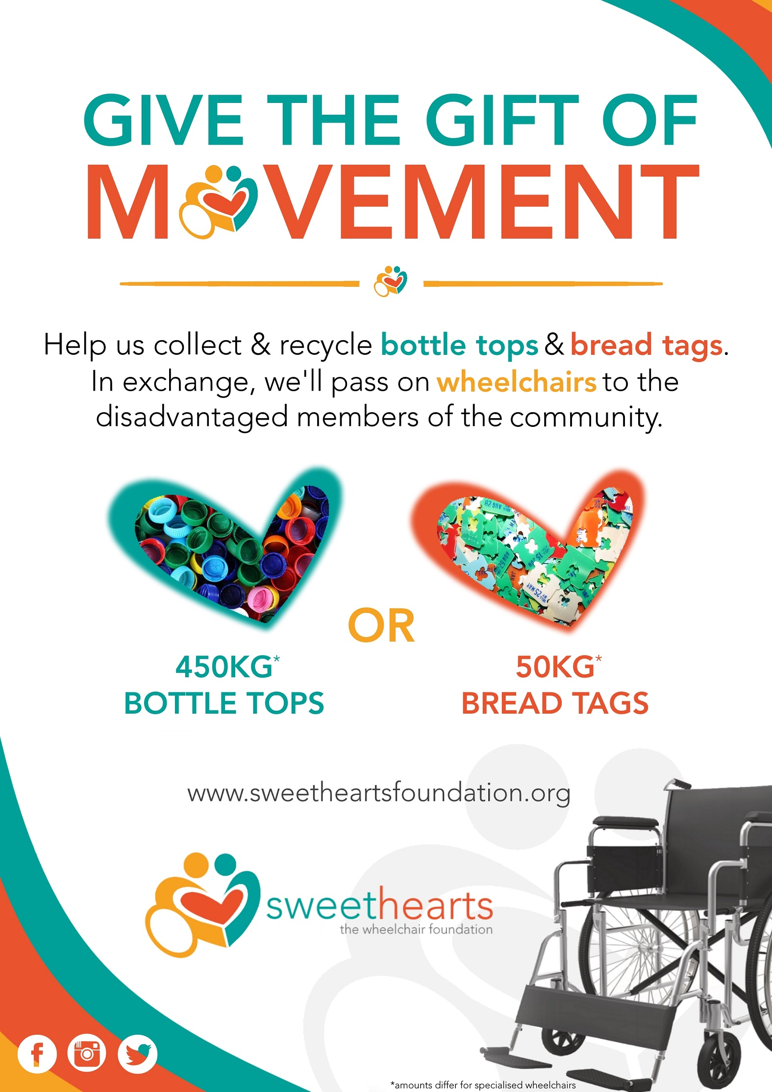 Your Help The Sweethearts Foundation